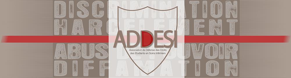 Logo : ADDESI : Association de Défense des Droits des Étudiants en Soins Infirmiers